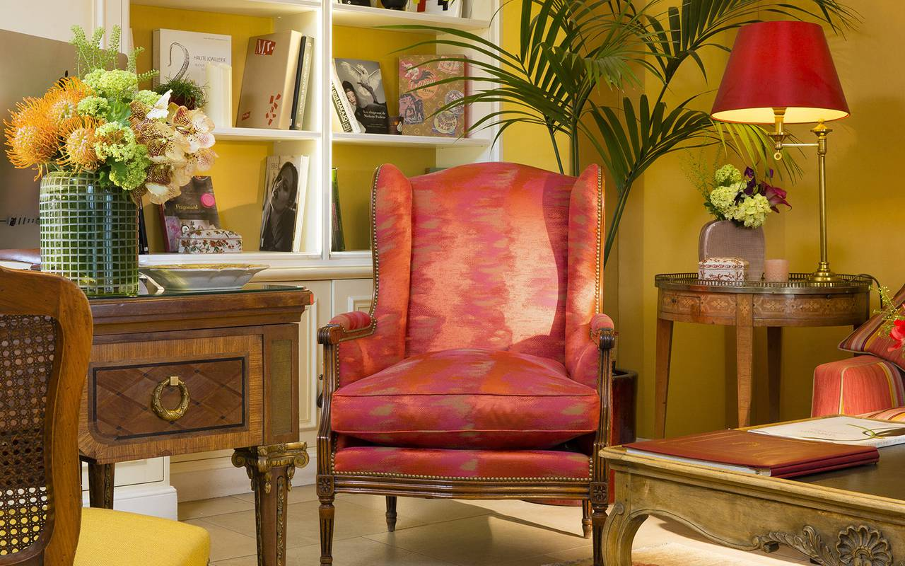 4-star hotel armchair Relais Madeleine