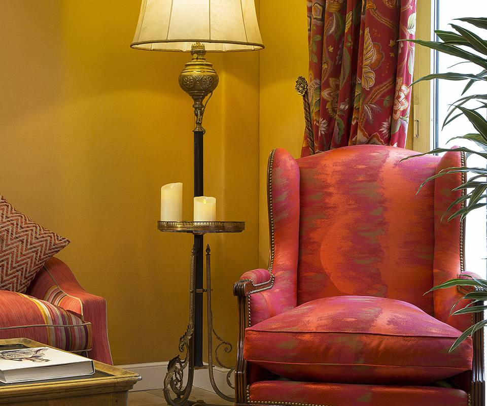 Fauteuil hotel Paris 9 Relais Madeleine