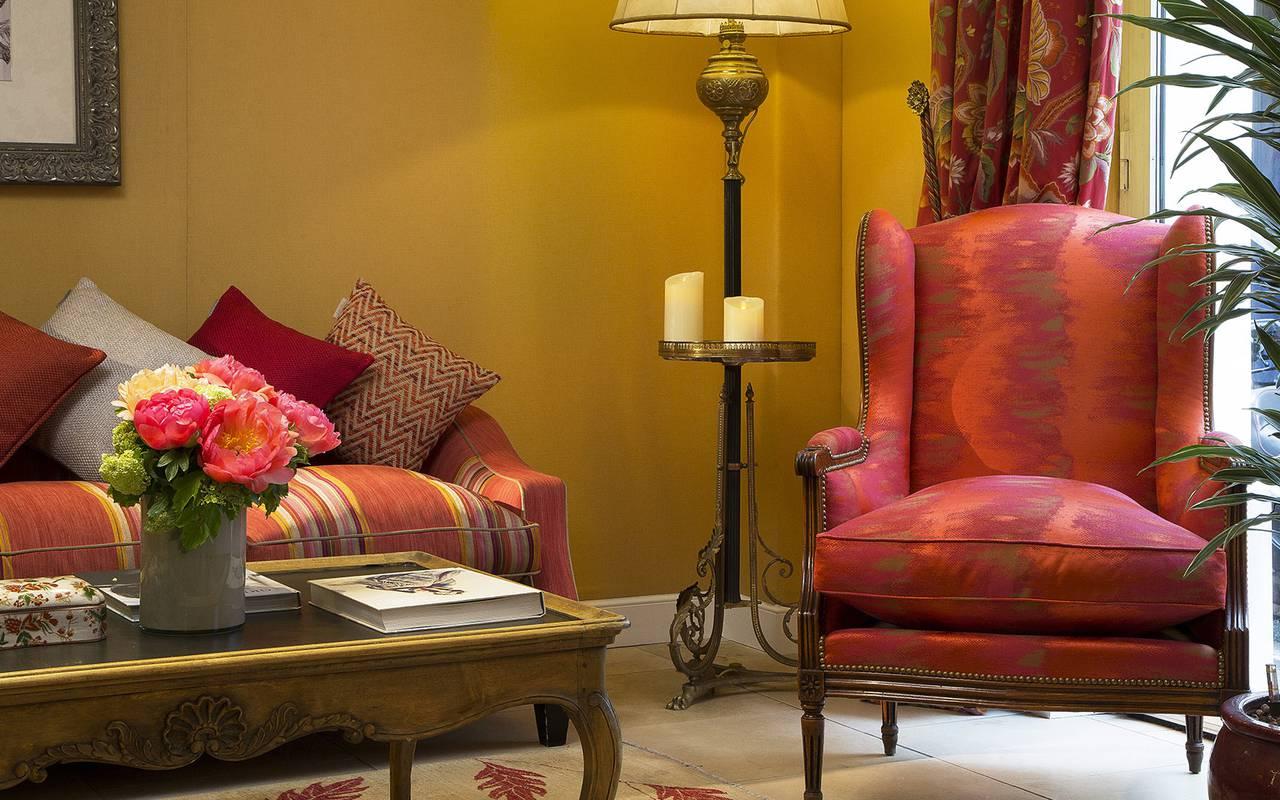Hôtel avec décoration chaleureuse Relais Madeleine