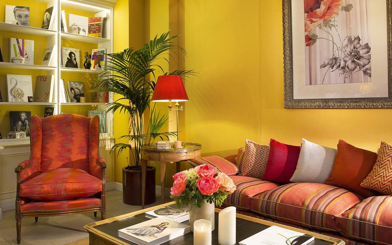 Espace détente Relais Madeleine Hôtel Paris