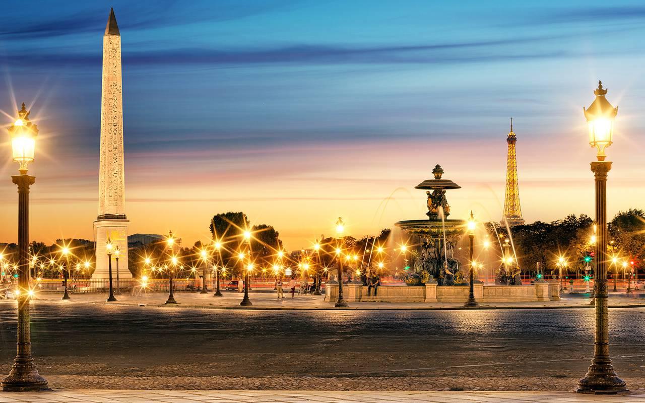 Paris de nuit hôtel 4 étoiles Relais Madeleine